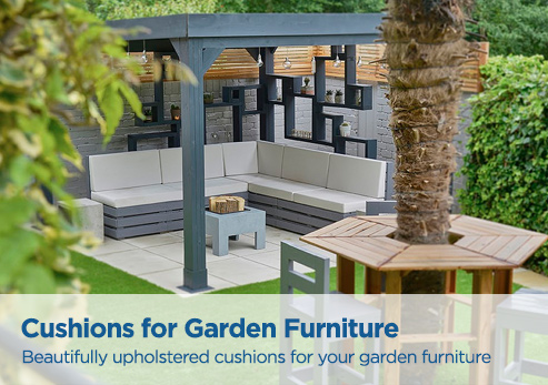 Cushions for your garden furniture