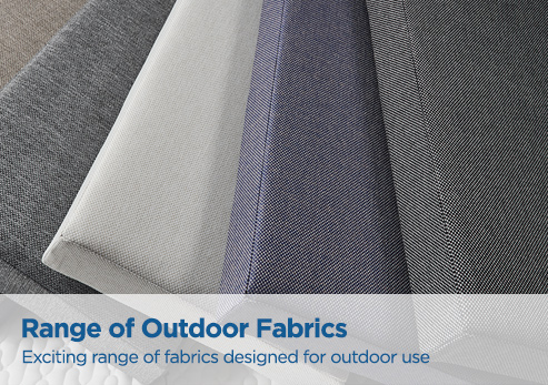 New range of outdoor fabrics