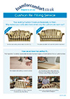 Cushion Refilling Service